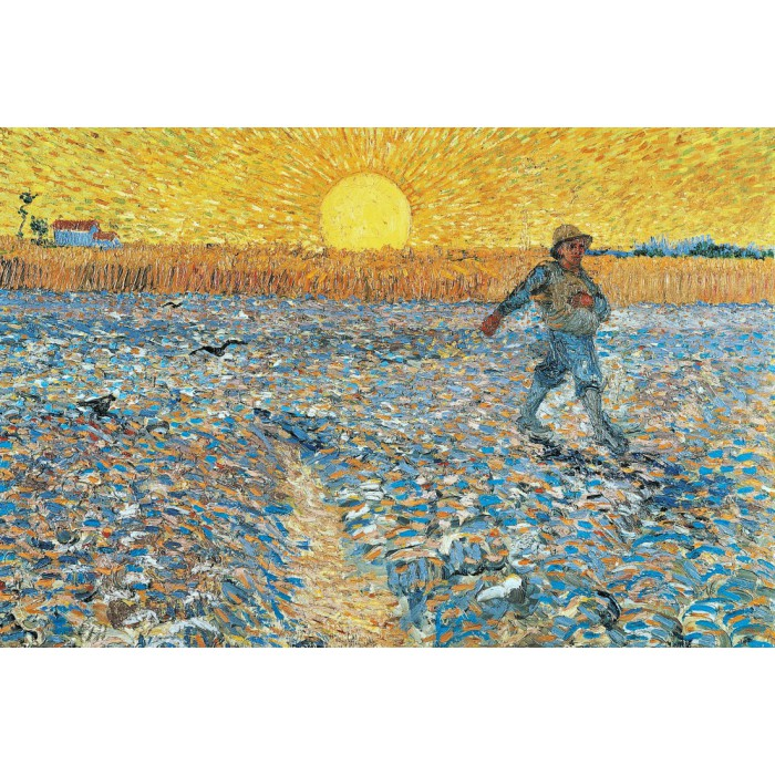 Puzzle Grafika-Kids-00006 Van Gogh : The Sower, 1888
