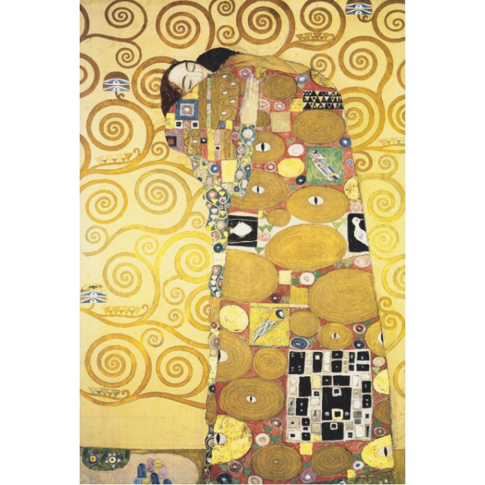 Puzzle Grafika-Kids-00071 Klimt Gustav : The Hug