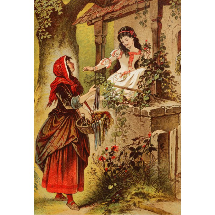 Puzzle Grafika-Kids-00131 XXL Pieces - Snow White, illustration by Carl Offterdinger