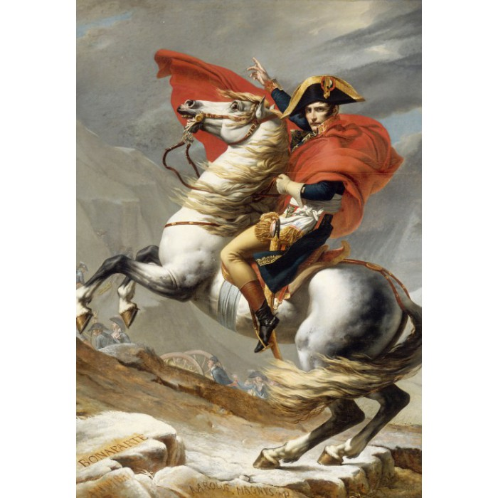Puzzle Grafika-Kids-00350 Jacques-Louis David: Napoleon Crossing the Alps