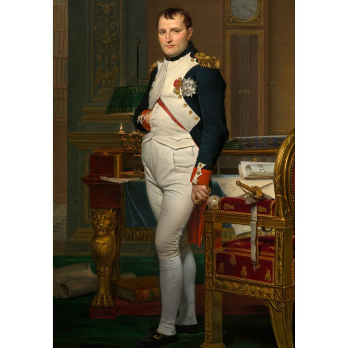 Puzzle Grafika-Kids-00360 Jacques-Louis David: The Emperor Napoleon in his study at the Tuileries, 1812