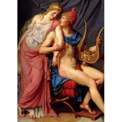 Puzzle  Grafika-Kids-00367 Magnetic Pieces - Jacques-Louis David: The Loves of Paris and Helen, 1788
