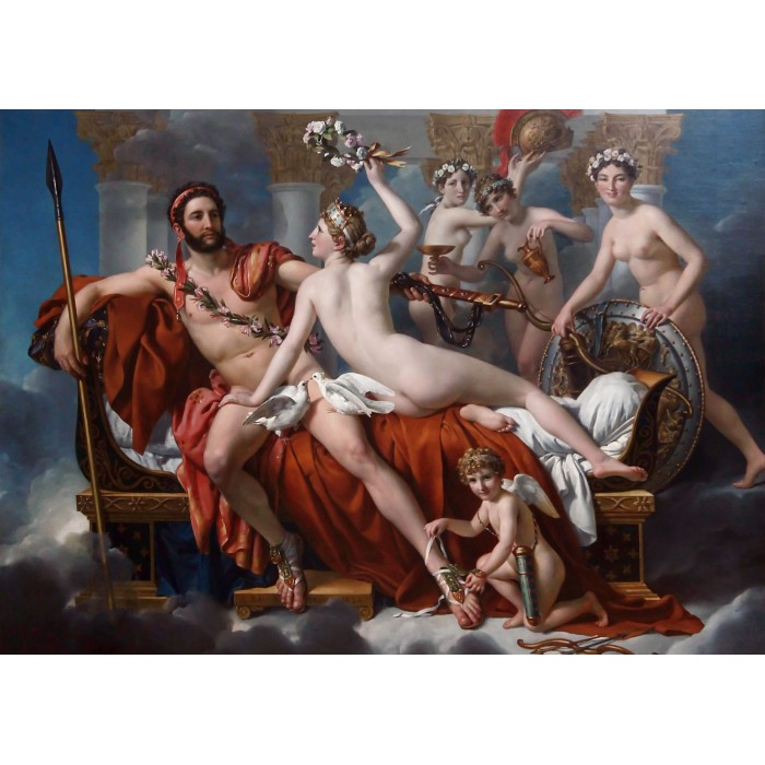 Puzzle Grafika-Kids-00371 Jacques-Louis David: Mars Being Disarmed by Venus, 1824