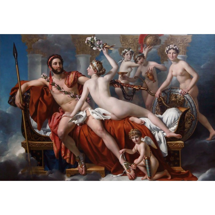 Puzzle Grafika-Kids-00373 XXL Pieces - Jacques-Louis David: Mars Being Disarmed by Venus, 1824