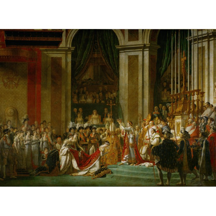 Puzzle Grafika-Kids-00374 Jacques-Louis David: The Coronation of Napoleon, 1805-1807