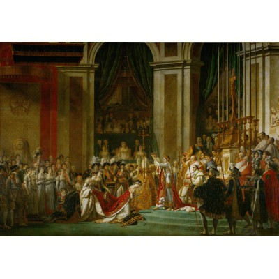 Puzzle  Grafika-Kids-00375 Jacques-Louis David: The Coronation of Napoleon, 1805-1807