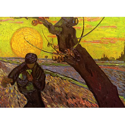 Puzzle  Grafika-Kids-00418 Van Gogh : The Sower, 1888
