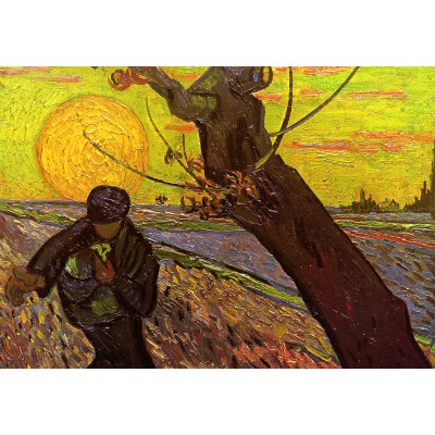 Puzzle  Grafika-Kids-00419 Van Gogh : The Sower, 1888