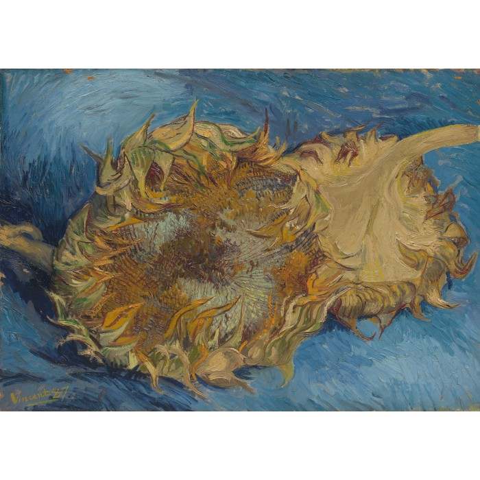 Puzzle Grafika-Kids-00431 Magnetic Pieces - Van Gogh: Sunflowers, 1887