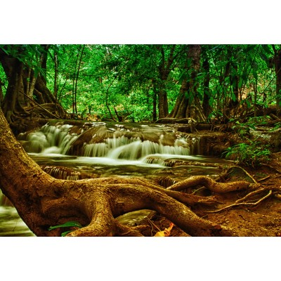Puzzle  Grafika-Kids-00929 XXL Pieces - Waterfall in Forest