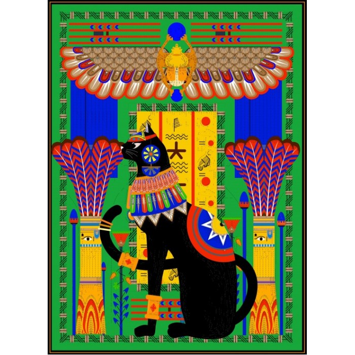 Puzzle Grafika-Kids-00967 Egyptian Cat