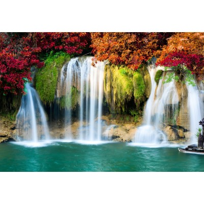 Puzzle  Grafika-Kids-00988 XXL Pieces - Waterfall in Forest