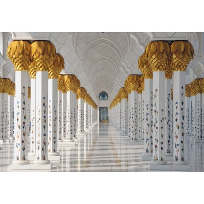 Puzzle  Grafika-Kids-01146 XXL Pieces - Sheikh Zayed Mosque in Abu Dhabi, United Arab Emirates