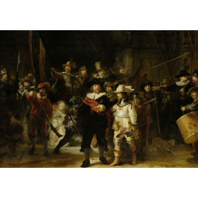 Puzzle  Grafika-Kids-01264 Rembrandt - Night Watch, 1642