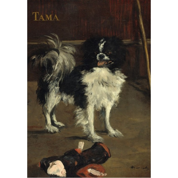 Puzzle Grafika-Kids-01268 Edouard Manet: Tama: The Japanese Dog, 1875