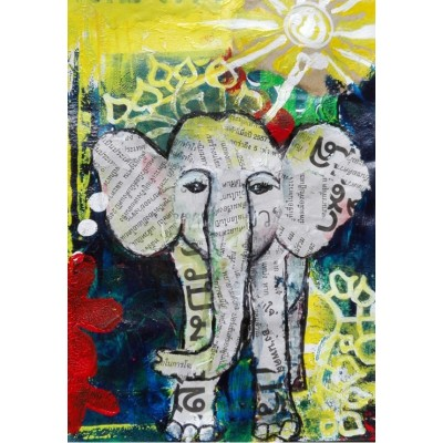 Puzzle  Grafika-Kids-01270 Thai Elephant