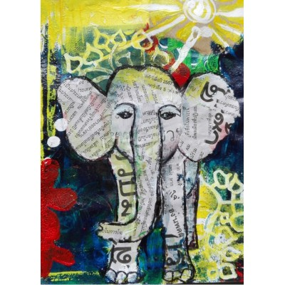 Puzzle  Grafika-Kids-01272 Thai Elephant