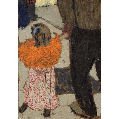 Puzzle  Grafika-Kids-01294 Edouard Vuillard: Child Wearing a Red Scarf, 1891