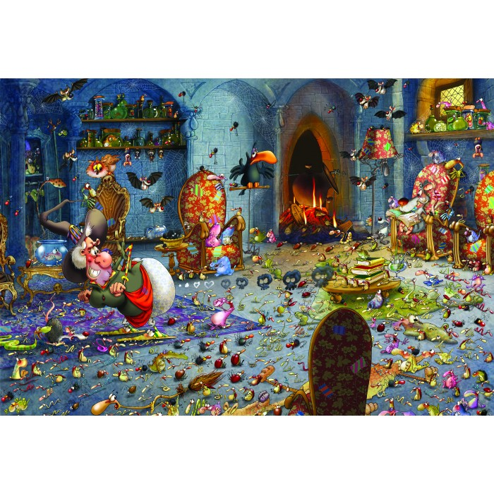 Puzzle Grafika-Kids-01440 XXL Pieces - François Ruyer: Witch