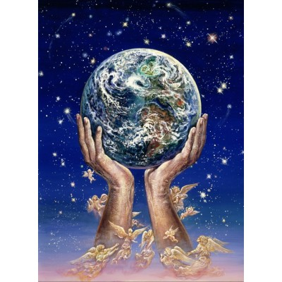 Puzzle  Grafika-Kids-01517 Josephine Wall - Hands of Love