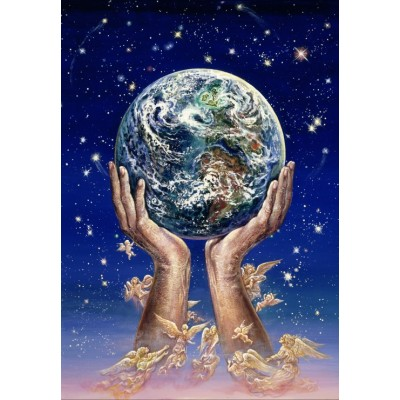 Puzzle  Grafika-Kids-01518 Josephine Wall - Hands of Love