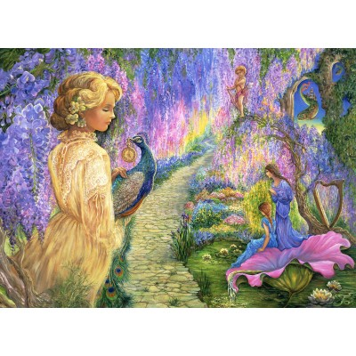 Puzzle  Grafika-Kids-01534 Josephine Wall - Wisteria Way