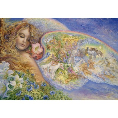 Puzzle  Grafika-Kids-01600 Josephine Wall - Wings of Love