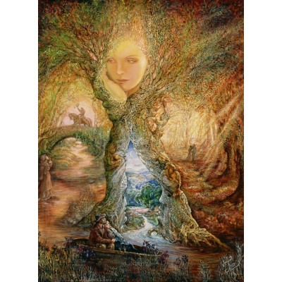 Puzzle  Grafika-Kids-01605 Josephine Wall - Willow World