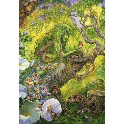 Puzzle  Grafika-Kids-01967 Josephine Wall - Forest Protector