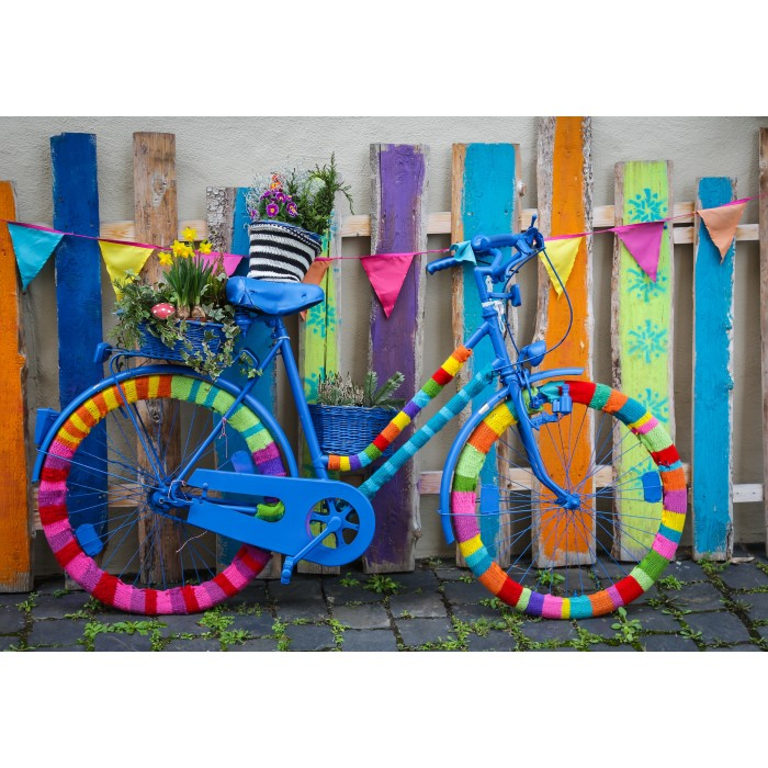 Puzzle Grafika-Kids-01984 My Beautiful Colorful Bike