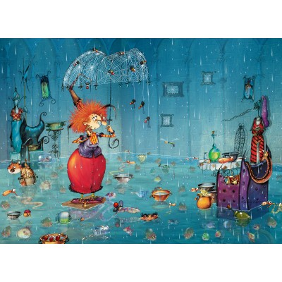 Puzzle  Grafika-Kids-02120 Wet Witch