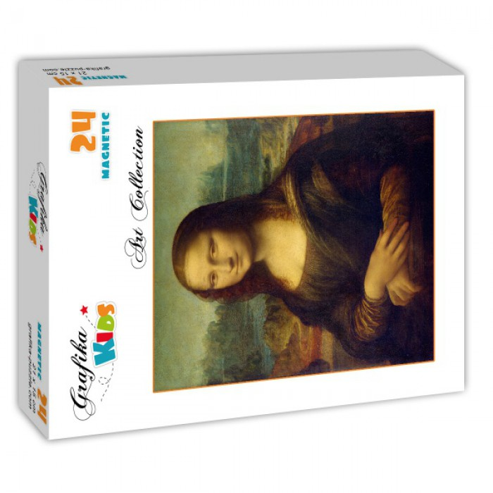 Puzzle Grafika-Kids-00218 Magnetic Pieces - Leonardo da Vinci - 1503-1506