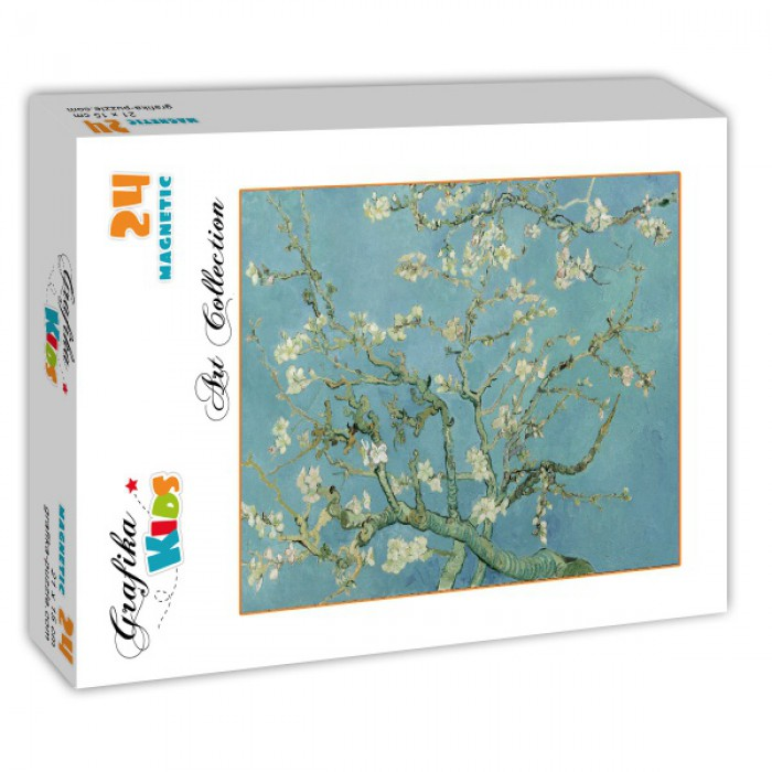 Puzzle Grafika-Kids-00211 Magnetic Pieces - Vincent Van Gogh, 1890