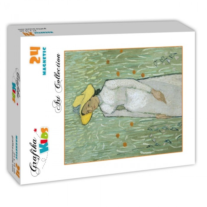 Puzzle Grafika-Kids-00997 Magnetic Pieces - Vincent Van Gogh - Girl in White, 1890