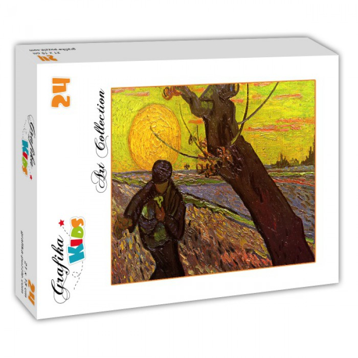 Puzzle Grafika-Kids-00420 Van Gogh : The Sower, 1888