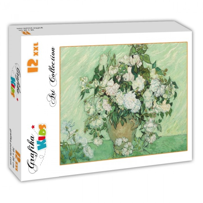 Puzzle Grafika-Kids-01011 XXL Pieces - Vincent Van Gogh - Roses, 1890