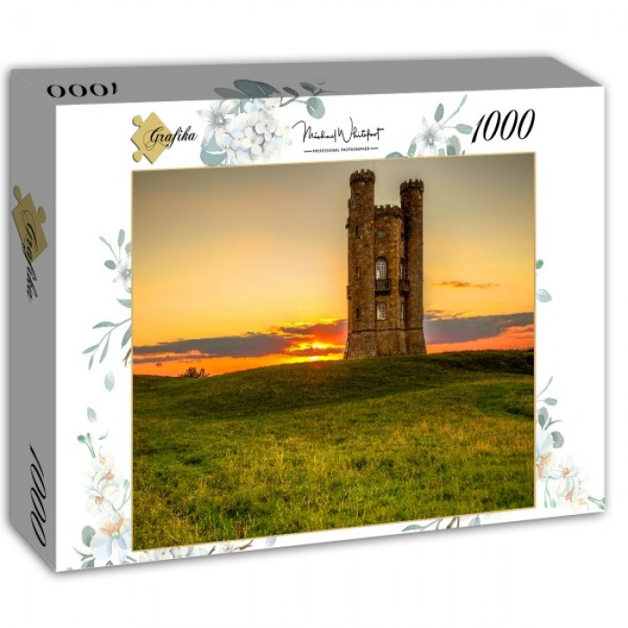 Puzzle Grafika-02928 Broadway Tower in the Cotswolds