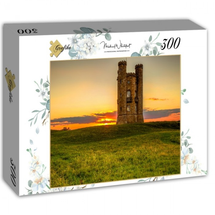 Puzzle Grafika-02929 Broadway Tower in the Cotswolds