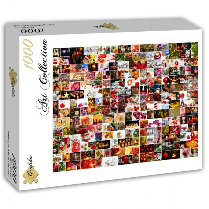 Puzzle Grafika-T-00922 Collage - Christmas
