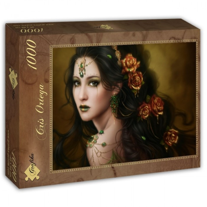 Puzzle Grafika-T-00003 Golden Rose