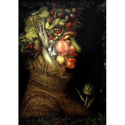 grafika-Puzzle - 1000 pieces - Giuseppe Arcimboldo : The Summer