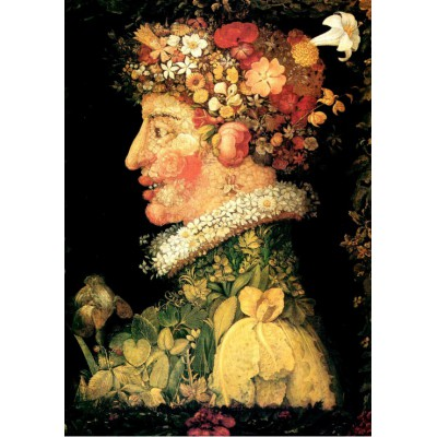 grafika-Puzzle - 1000 pieces - Giuseppe Arcimboldo : The Spring