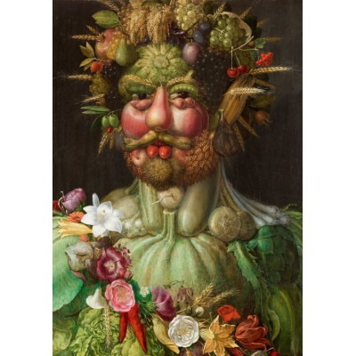 grafika-Puzzle - 1000 pieces - Giuseppe Arcimboldo: Rudolf II of Habsburg as Vertumnus