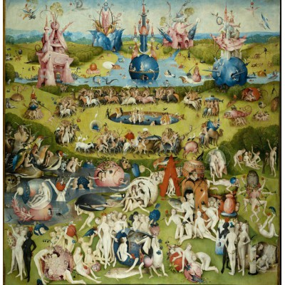 grafika-Puzzle - 1500 pieces - Jérôme Bosch : The Garden of Earthly Delights