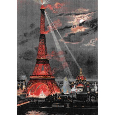 Puzzle  Grafika-00075 George Garen: Eiffel Tower