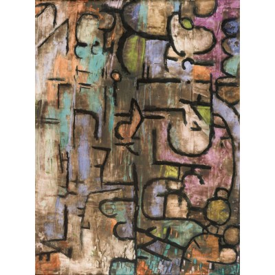 grafika-Puzzle - 2000 pieces - Paul Klee : After The Flood, 1936