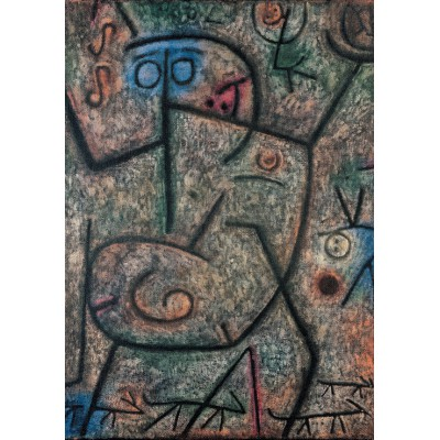 grafika-Puzzle - 1000 pieces - Paul Klee : Oh! These Rumors!, 1939