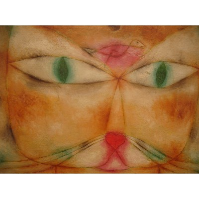 grafika-Puzzle - 2000 pieces - Paul Klee : Cat and Bird, 1928