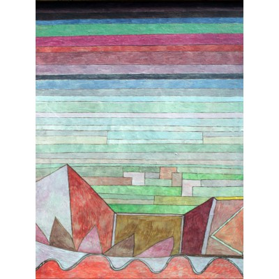 grafika-Puzzle - 2000 pieces - Paul Klee : View into the Fertile Country, 1932
