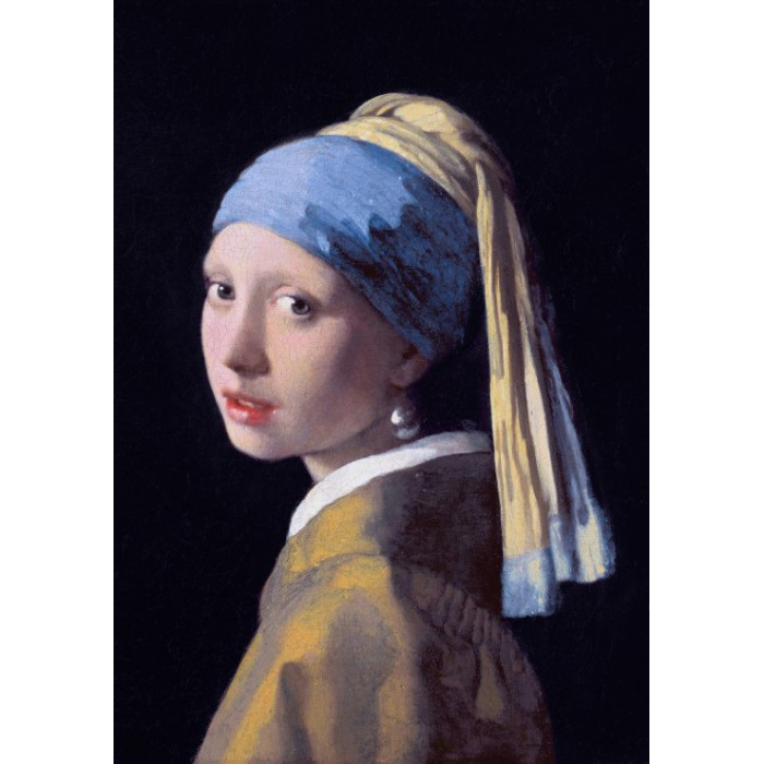 Puzzle Grafika-00143 Vermeer Johannes: The Girl with a Pearl Earring, 1665